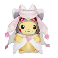 Pikachu with Mega Diancie Hoodie Poké Plush (Standard) - 8 In.