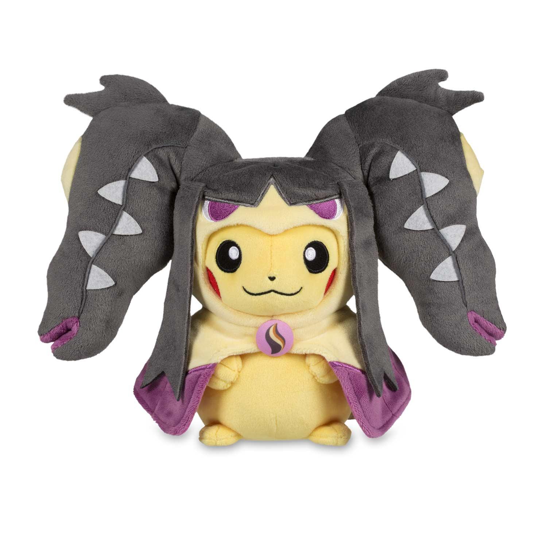 Pikachu With Mega Mawile Hoodie Poké Plush Standard 10 In