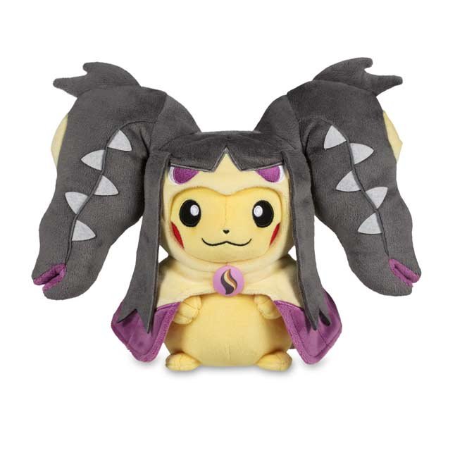 "Image for Pikachu with Mega Mawile Hoodie Poké Plush (Standard) - 10"" from Pokemon Center"