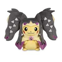 Pikachu with Mega Mawile Hoodie Poké Plush (Standard) - 10 In.