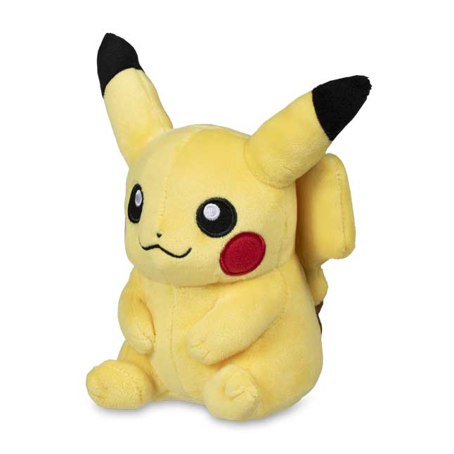 "Image for Pikachu Poké Plush (Standard) - 5"" from Pokemon Center"