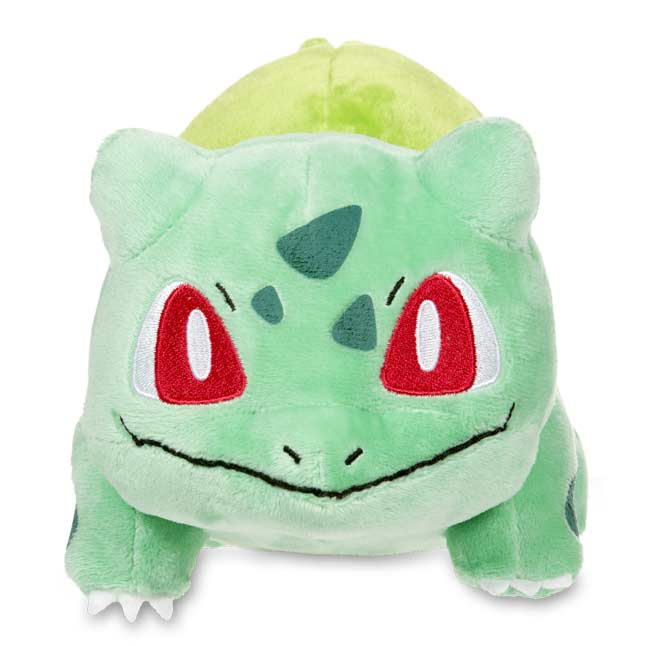 "Image for Bulbasaur Poké Plush (Standard Size) - 5 1/4"" from Pokemon Center"