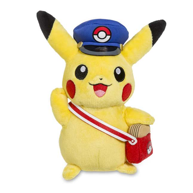 "Image for Special Delivery Pikachu Poké Plush (Standard Size) - 7 1/2"" from Pokemon Center"