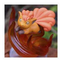 Image for Pokémon Gallery Figure: Vulpix—Fire Spin from Pokemon Center