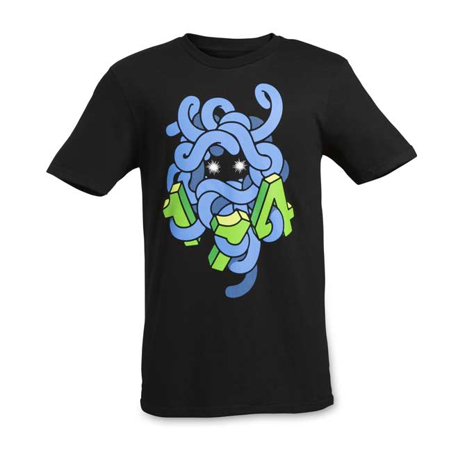 Image for Tangela 151 Cut Adult Crewneck T-Shirt from Pokemon Center
