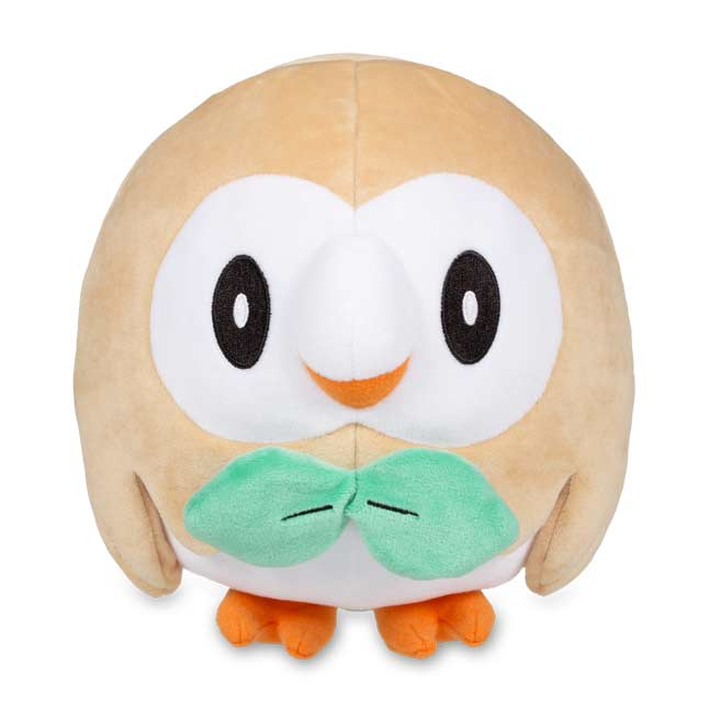 "Image for Rowlet Poké Plush (Standard) - 6.5"" from Pokemon Center"