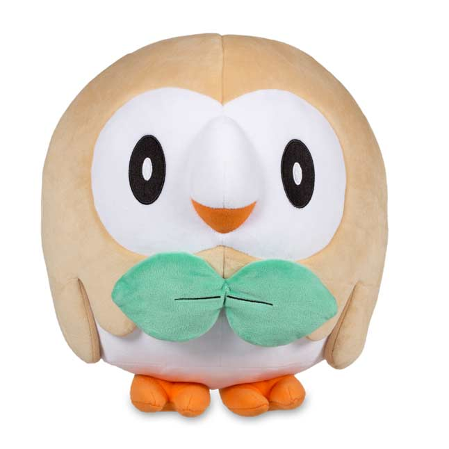 "Image for Rowlet Plush (Trainer Size)  - 11"" from Pokemon Center"
