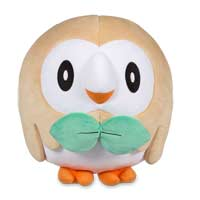 Rowlet Plush (Trainer Size)  - 11 In.