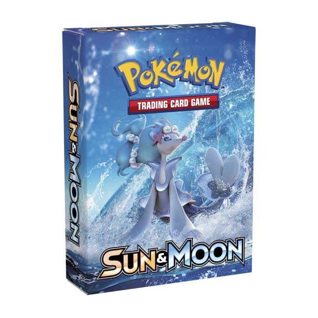 Image for Pokémon TCG: Sun & Moon—Bright Tide Theme Deck from Pokemon Center