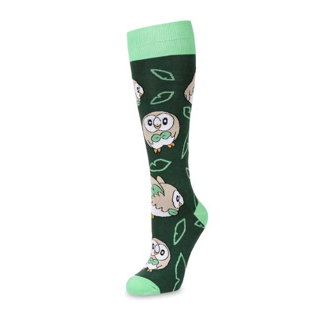 Image for Rowlet Mid-Calf Socks (Adult—One Size) from Pokemon Center
