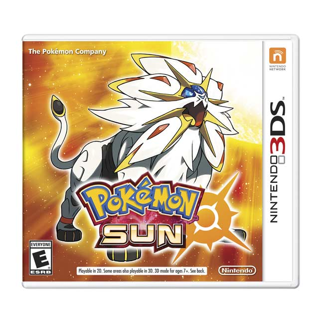 Image for Pokémon Sun from Pokemon Center