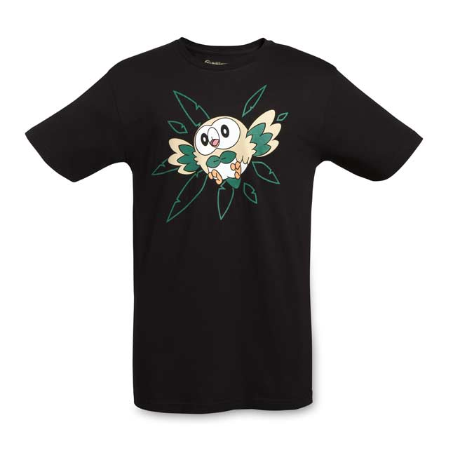 Image for Rowlet Relaxed Fit Crewneck T-Shirt - Adult from Pokemon Center