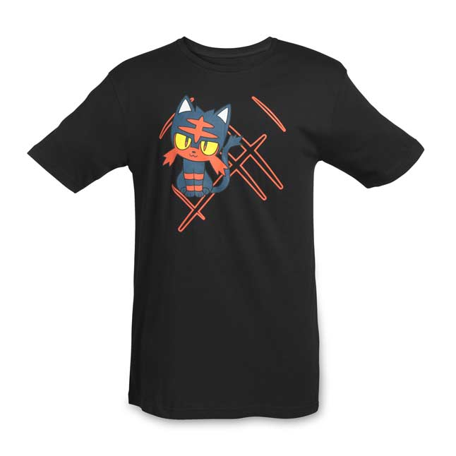 Image for Litten Relaxed Fit Crewneck T-Shirt - Adult from Pokemon Center