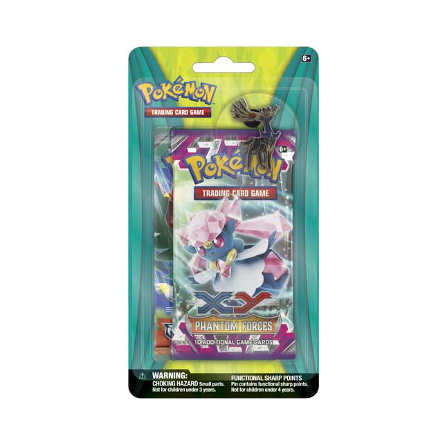 Image for Pokémon TCG: 2 Booster Packs with Xerneas Collector's Pin from Pokemon Center