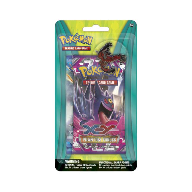 Image for Pokémon TCG: 2 Booster Packs with Yveltal Collector's Pin from Pokemon Center