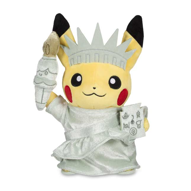 "Image for Around the World Liberty Pikachu Poké Plush (Standard) - 8 1/2"" from Pokemon Center"