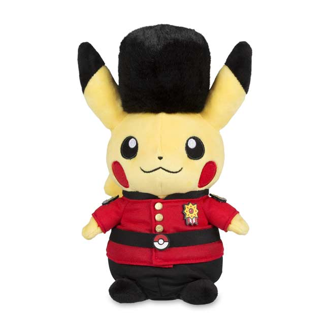 "Image for Around the World London Guard Pikachu Poké Plush (Standard) - 8 3/4"" from Pokemon Center"