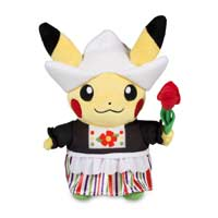 Around the World Netherlands Pikachu Poké Plush (Standard) - 8 1/2 In.