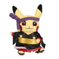 Around the World Kabuki Pikachu Poké Plush (Standard) - 9 In.