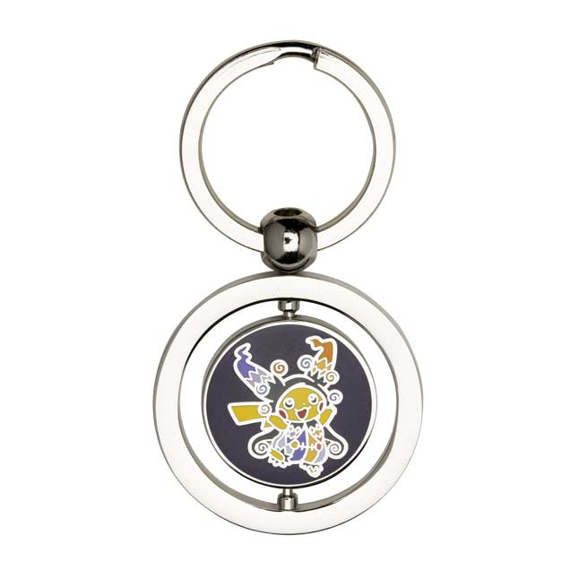 Image for Halloween Circus Spinning Keychain (Pikachu, Eevee) from Pokemon Center