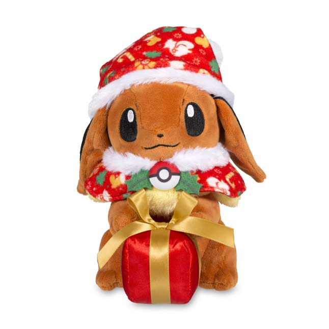 "Image for Holiday Eevee Poké Plush (Standard) - 7"" from Pokemon Center"