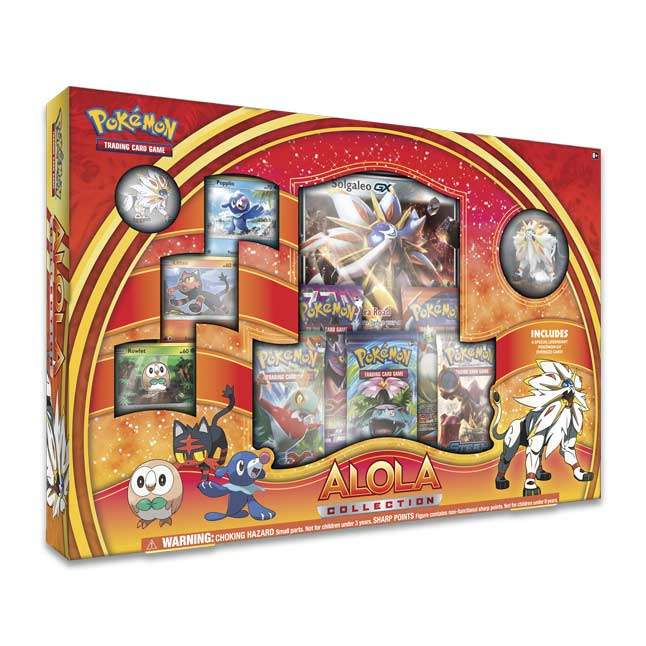 Image for Pokémon TCG: Alola Collection with Solgaleo from Pokemon Center