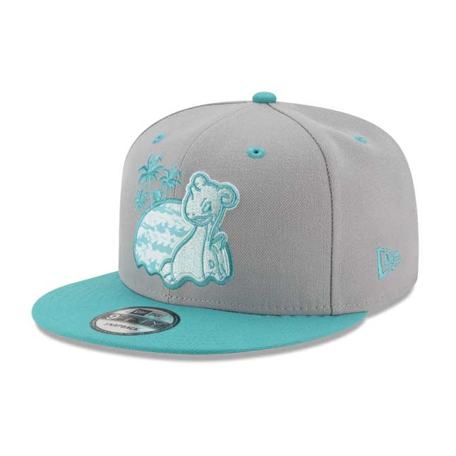 Image for Lapras Surf 9FIFTY Baseball Cap by New Era (One Size—Adult) from Pokemon Center