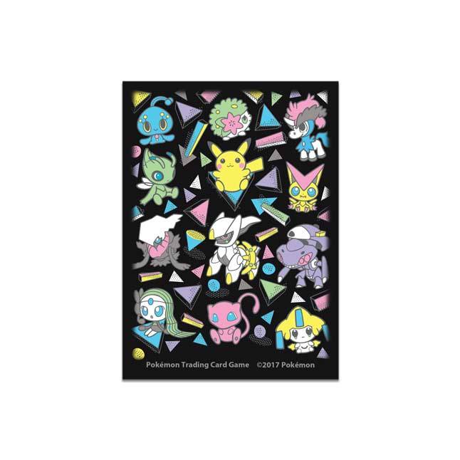 Image for Pokémon TCG: Poké Doll Mythical Mania Card Sleeves (65 Sleeves) from Pokemon Center
