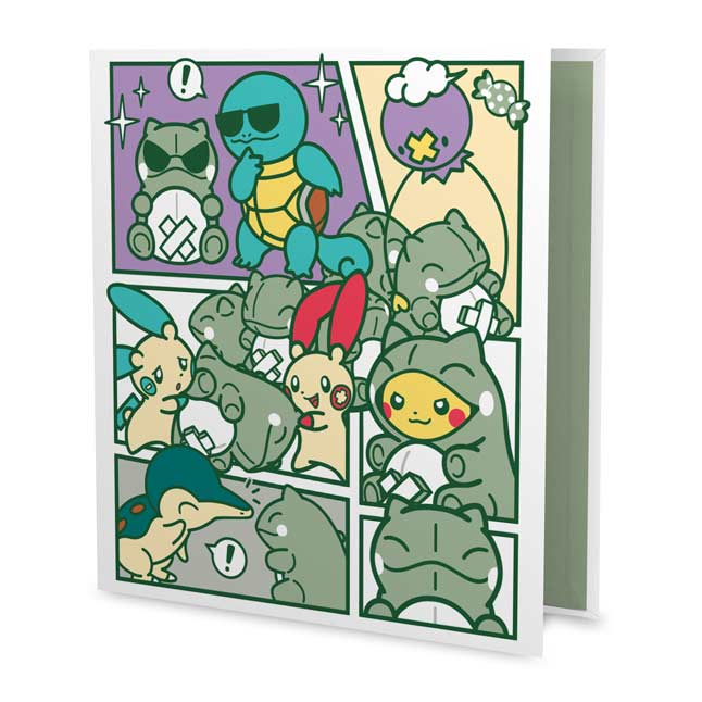 "Image for Pokémon-Amie Substitute 1"" D-Ring Trading Card Binder from Pokemon Center"