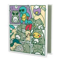 Pokémon-Amie Substitute 1 In. D-Ring Trading Card Binder
