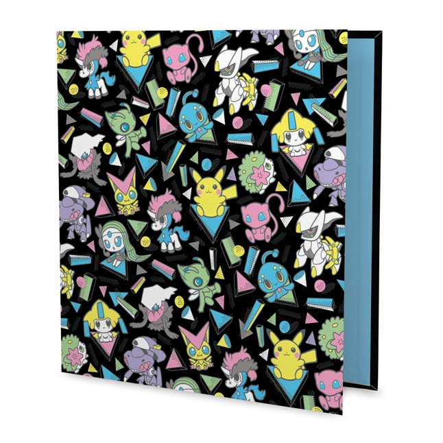 "Image for Mythical Mania 1"" D-Ring Trading Card Binder from Pokemon Center"