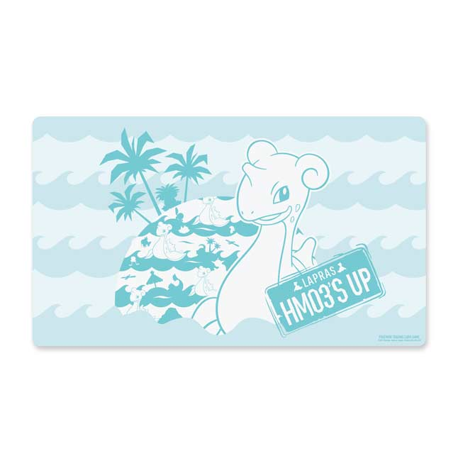 Image for Pokémon TCG: Lapras Surf Playmat from Pokemon Center