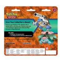 Image for Pokémon TCG: 3 Booster Packs with Mega Blastoise Collector's Pin from Pokemon Center