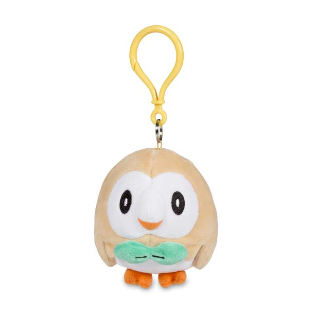 Image for Rowlet Plush Key Chain from Pokemon Center
