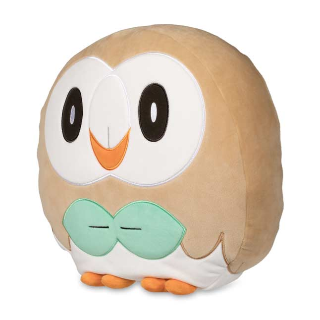 Image for Rowlet Poké Plush Cushion from Pokemon Center