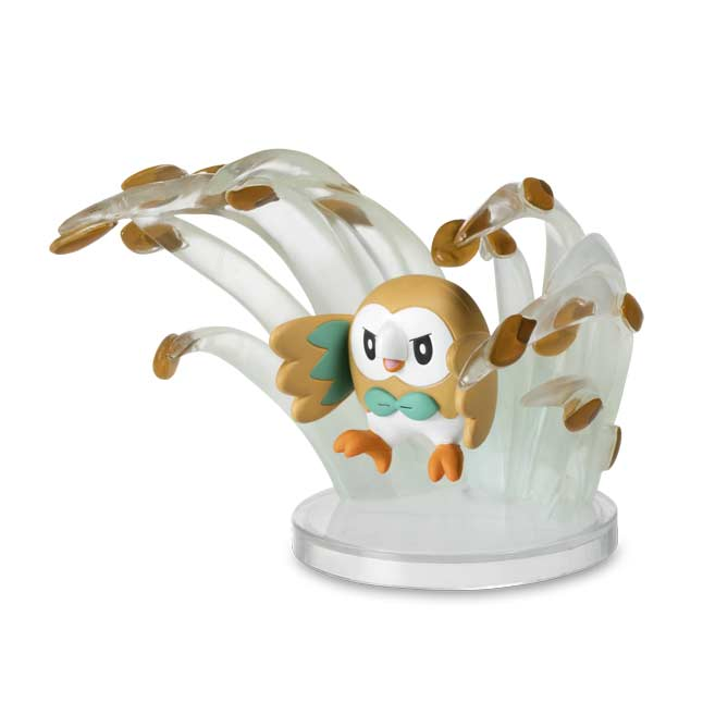 Image for Pokémon Gallery Figure: Rowlet—Leafage from Pokemon Center