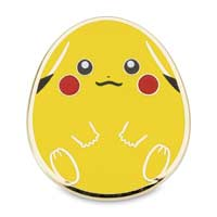 Image for Pikachu Eevee Piplup Chansey Spring Egg Pokémon Pins (4 Pack) from Pokemon Center