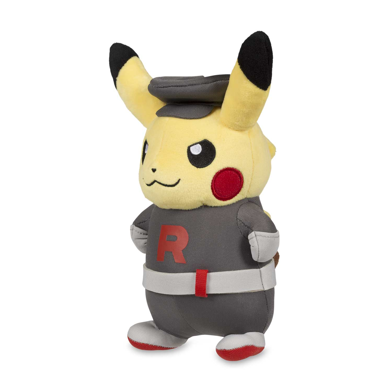 team rocket pikachu poké plush pokémon center original