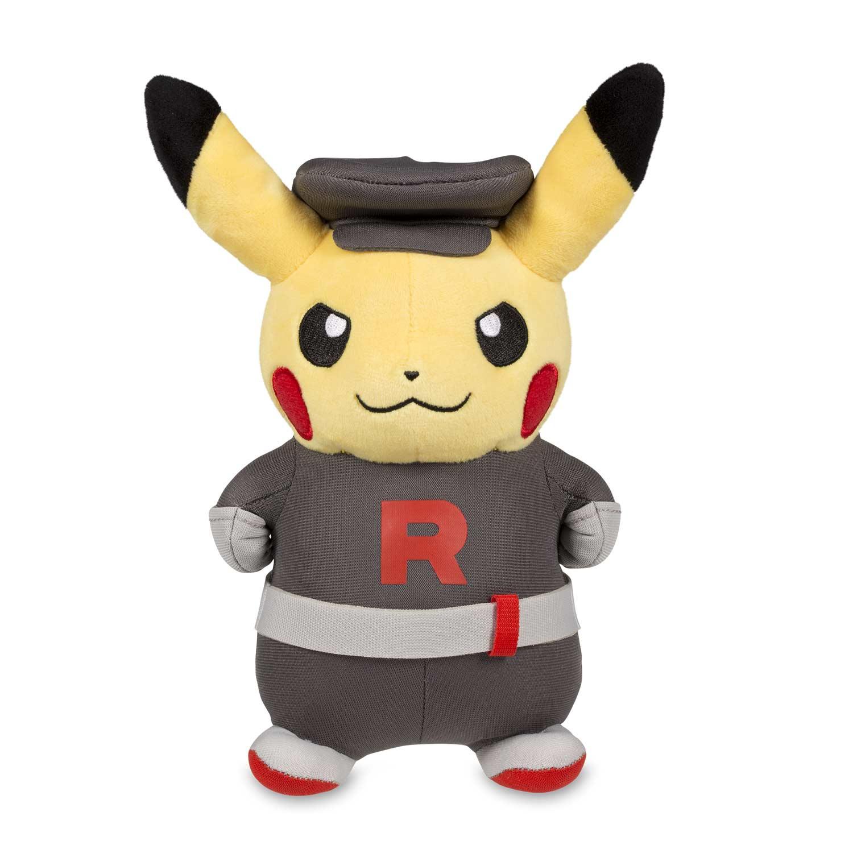 ... Image for Pikachu in Team Rocket Costume Poké Plush (Standard Size) - 8 3 ...  sc 1 st  Pokemon Center & Team Rocket Pikachu Poké Plush   Pokémon Center Original