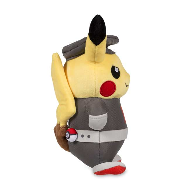 Image for Pikachu in Team Rocket Costume Poké Plush (Standard Size) - 8 3/4 In. from Pokemon Center