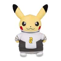 Image for Pikachu in Team Galactic Costume Poké Plush (Standard Size) - 8 1/2 In. from Pokemon Center