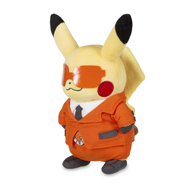 "Image for Pikachu in Team Flare Costume Poké Plush (Standard Size) - 8 3/4"" from Pokemon Center"