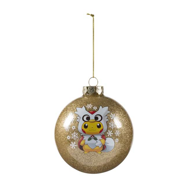 Image for Pikachu Globe Holiday Ornament from Pokemon Center