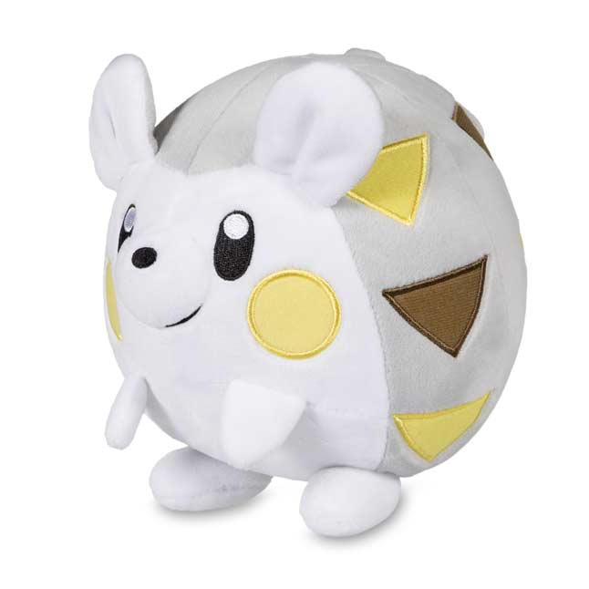 "Image for Togedemaru Poké Plush (Standard Size) - 6 1/2"" from Pokemon Center"