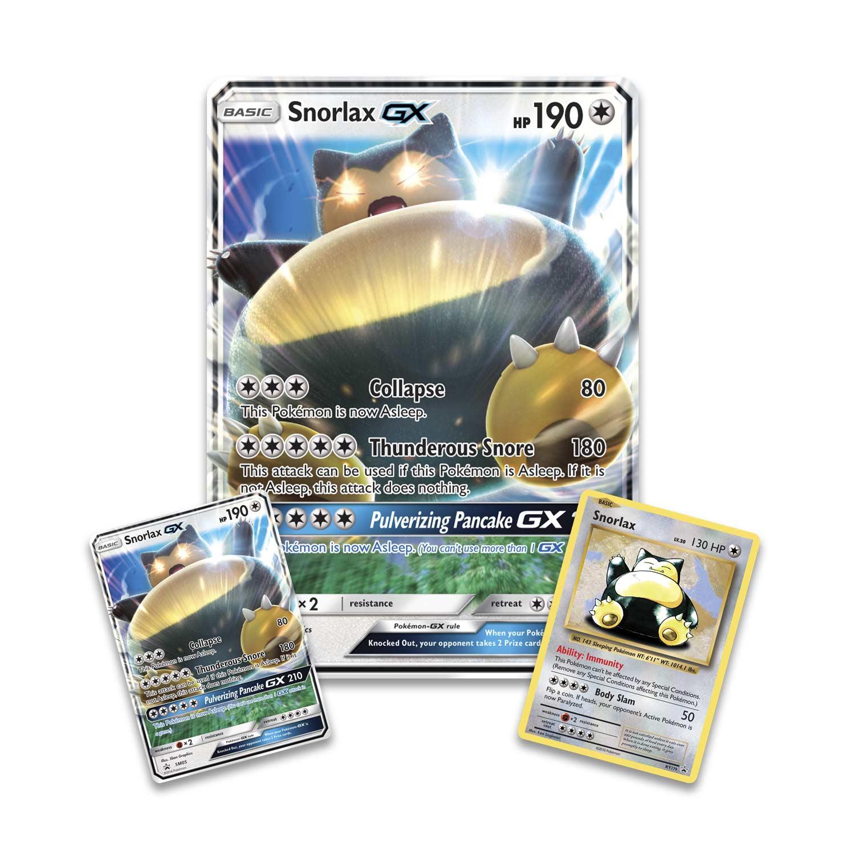 pok233mon tcg snorlaxgx box pok233mongx trading card game
