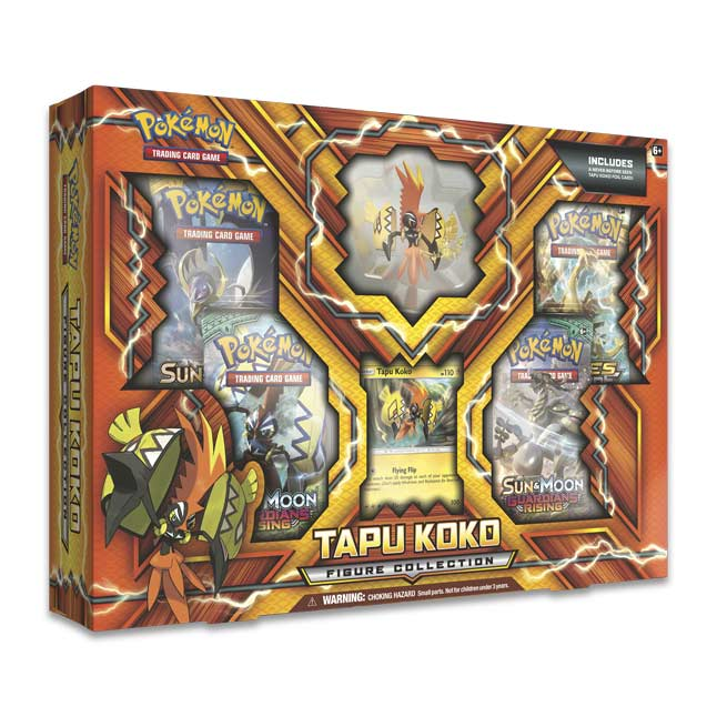 Image for Pokémon TCG: Tapu Koko Figure Collection from Pokemon Center