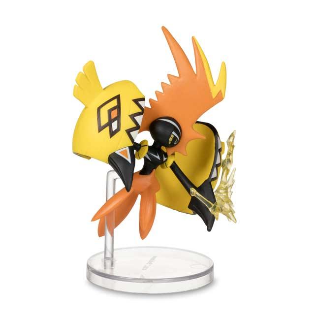 4 Booster Packs TCG Pokemon Tapu Koko Figure Collection Foil Figure