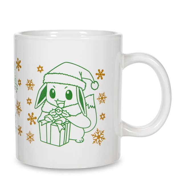 Image for Eevee Holiday Mug from Pokemon Center