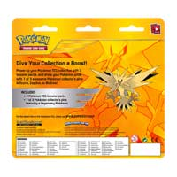 Image for Pokémon TCG: Legendary Birds 3 Boosters with Zapdos Collector's Pin from Pokémon Center