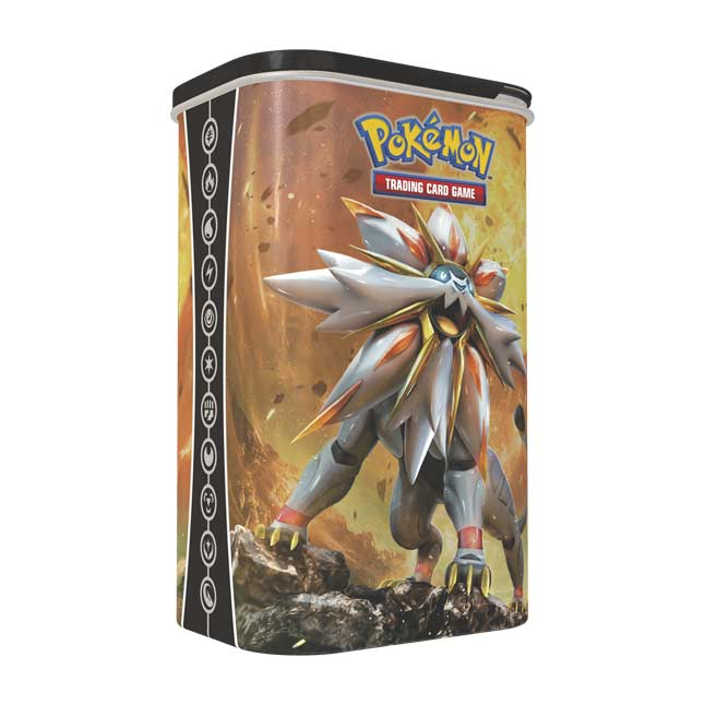Image for Pokémon TCG: Deck Shield featuring Solgaleo from Pokemon Center